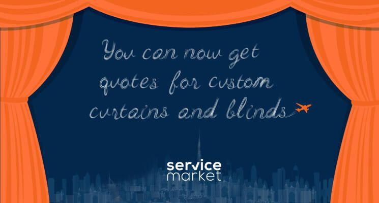 Get quotes for custom curtains and blinds